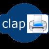 clapPrint logo